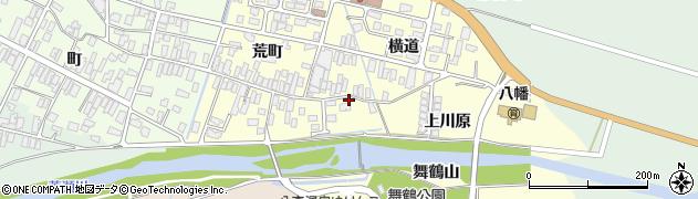 山形県酒田市麓荒町10周辺の地図