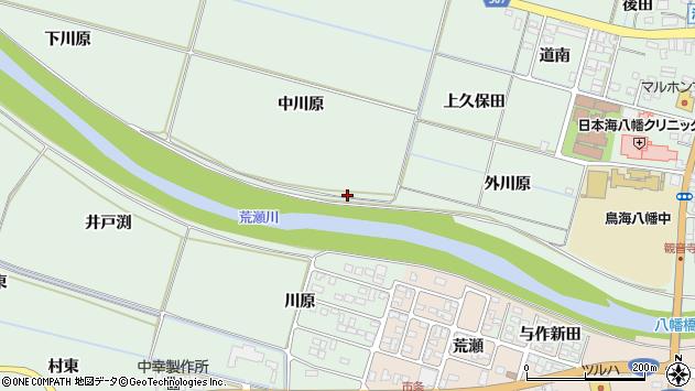 山形県酒田市小泉中川原周辺の地図