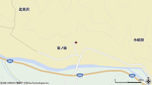 山形県酒田市北青沢家ノ前69周辺の地図