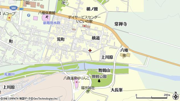 山形県酒田市麓横道28周辺の地図