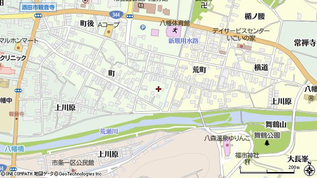 山形県酒田市観音寺町50周辺の地図