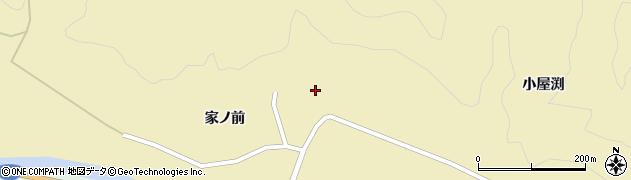 山形県酒田市北青沢家ノ前72周辺の地図