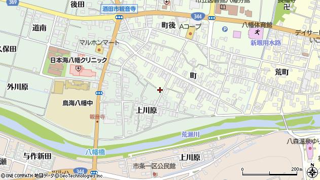 山形県酒田市小泉上川原130周辺の地図