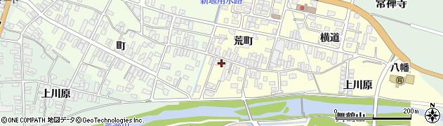 山形県酒田市麓荒町29周辺の地図