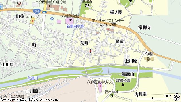 山形県酒田市麓荒町50周辺の地図