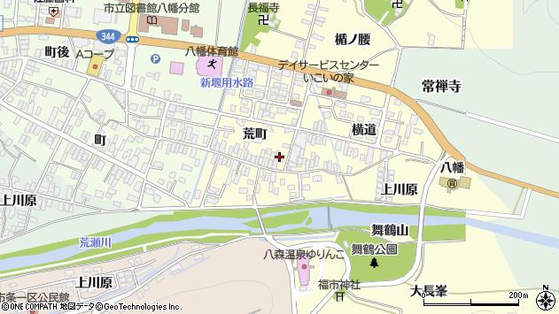 山形県酒田市麓荒町52周辺の地図