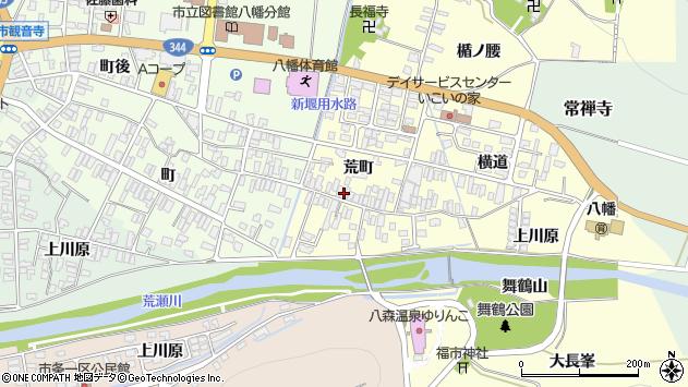 山形県酒田市麓荒町42周辺の地図
