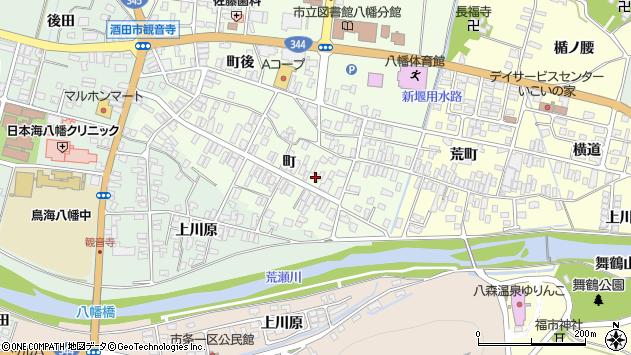 山形県酒田市観音寺町63周辺の地図