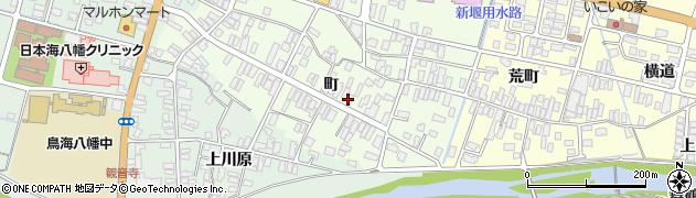 山形県酒田市観音寺町66周辺の地図