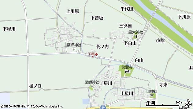 山形県酒田市大豊田侭ノ内33周辺の地図