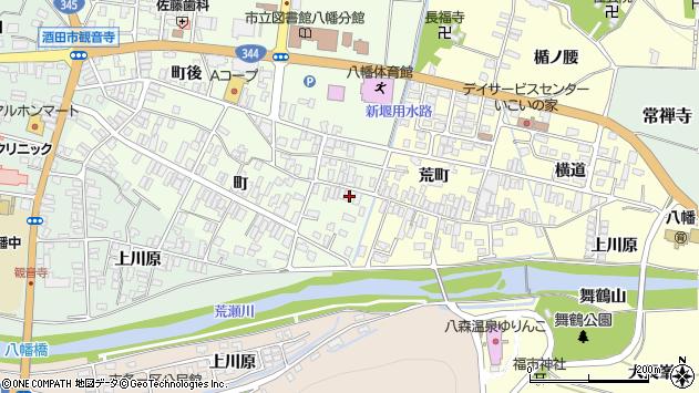 山形県酒田市観音寺町47周辺の地図