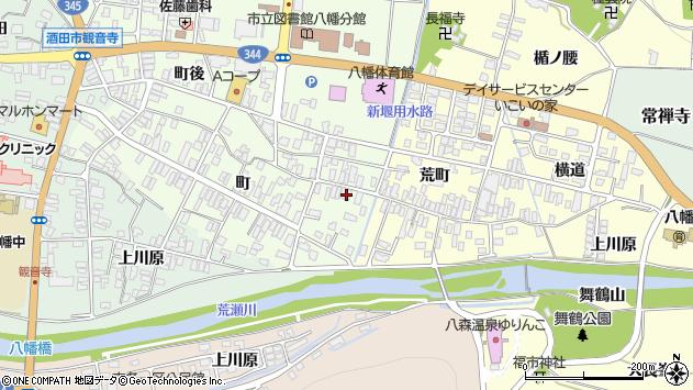 山形県酒田市観音寺町46周辺の地図