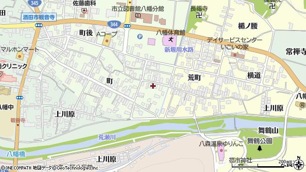 山形県酒田市観音寺町45周辺の地図