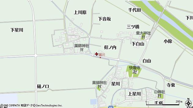 山形県酒田市大豊田侭ノ内35周辺の地図