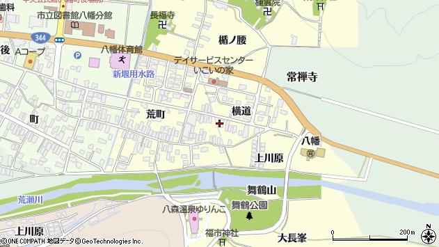 山形県酒田市麓横道27周辺の地図