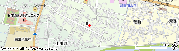 山形県酒田市観音寺町69周辺の地図