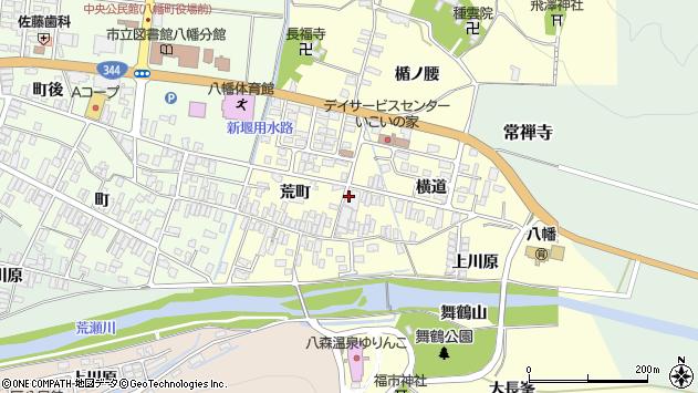 山形県酒田市麓横道32周辺の地図