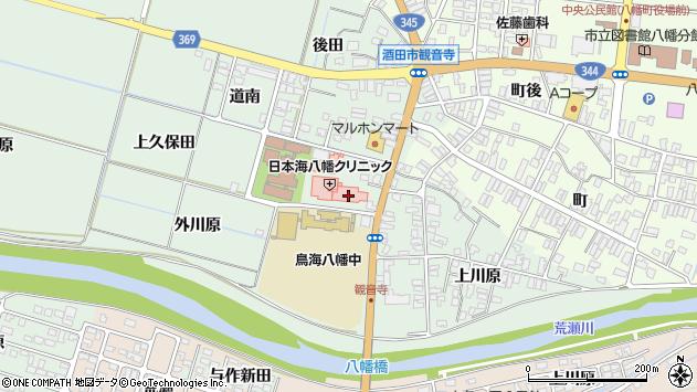 山形県酒田市小泉前田37周辺の地図