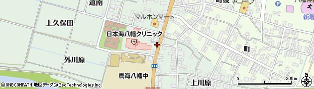 山形県酒田市小泉前田47周辺の地図