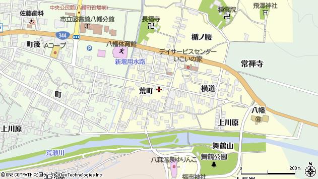 山形県酒田市麓荒町59周辺の地図