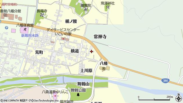 山形県酒田市麓横道15周辺の地図