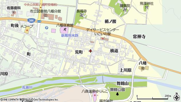 山形県酒田市麓荒町72周辺の地図