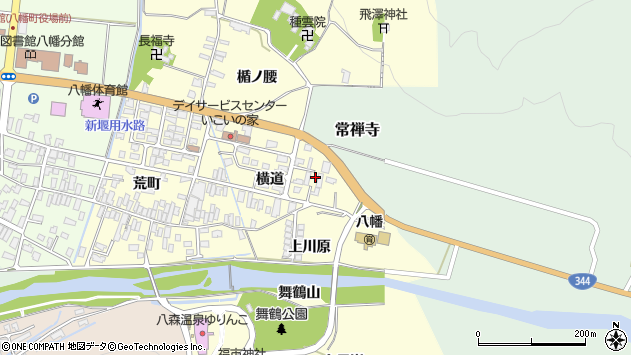 山形県酒田市麓横道17周辺の地図