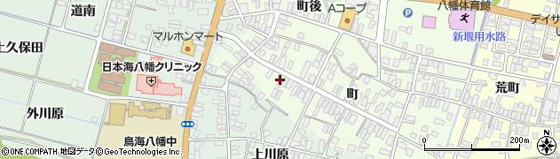 山形県酒田市観音寺町124周辺の地図