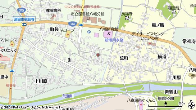 山形県酒田市観音寺町10周辺の地図