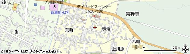 山形県酒田市麓横道周辺の地図