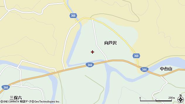 山形県酒田市上青沢向芦沢50周辺の地図