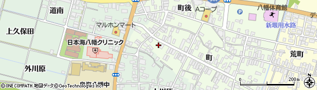 山形県酒田市観音寺町120周辺の地図