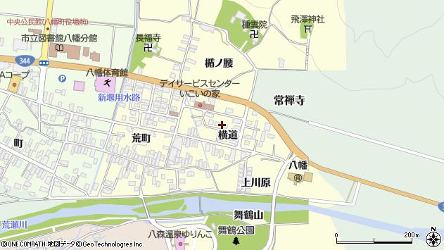 山形県酒田市麓横道10周辺の地図
