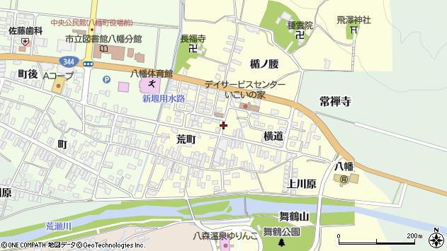山形県酒田市麓周辺の地図