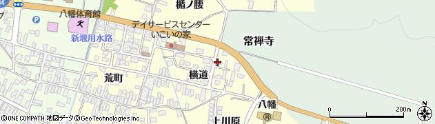 山形県酒田市麓横道9周辺の地図