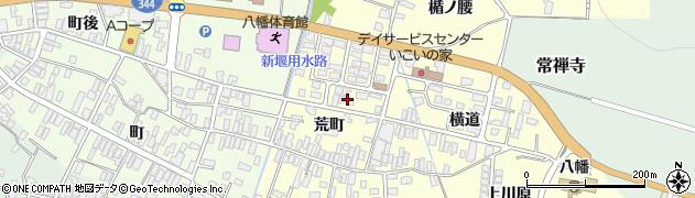 山形県酒田市麓荒町62周辺の地図