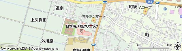 山形県酒田市小泉前田36周辺の地図