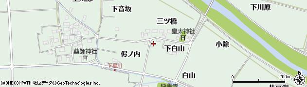 山形県酒田市大豊田侭ノ内9周辺の地図