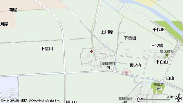 山形県酒田市大豊田下星川51周辺の地図