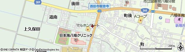 山形県酒田市小泉前田22周辺の地図
