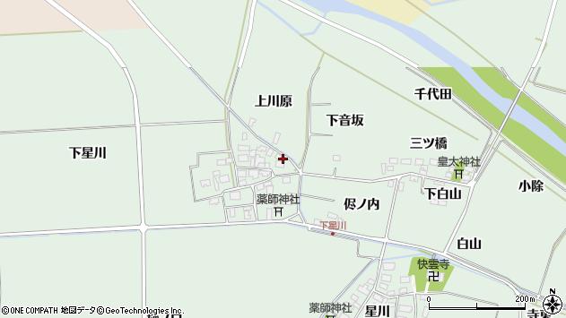 山形県酒田市大豊田下星川45周辺の地図