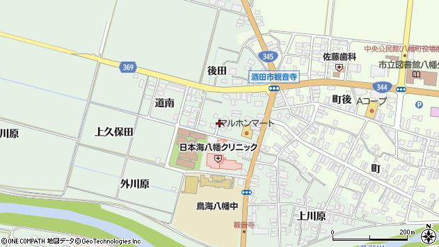 山形県酒田市小泉前田26周辺の地図