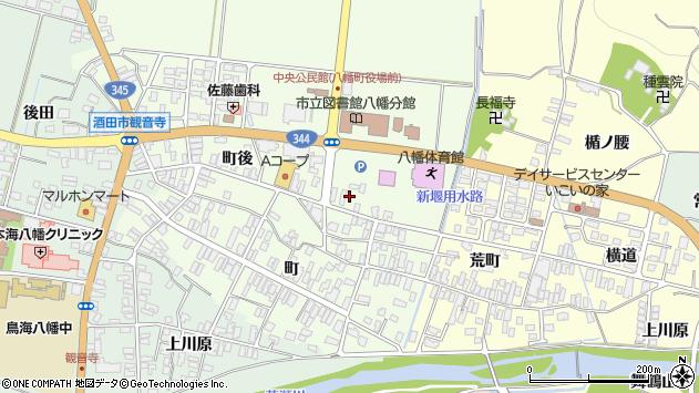 山形県酒田市観音寺町後53周辺の地図