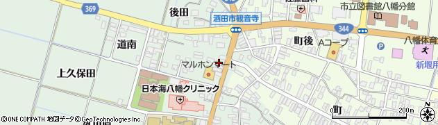 山形県酒田市小泉前田1周辺の地図