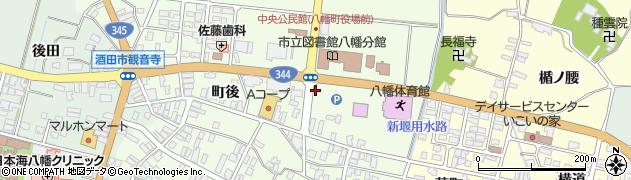山形県酒田市観音寺町後19周辺の地図