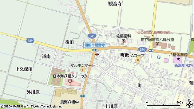 山形県酒田市小泉前田2周辺の地図