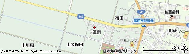山形県酒田市小泉道南3周辺の地図