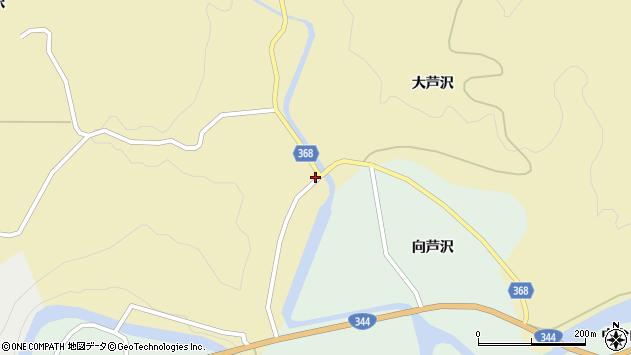 山形県酒田市北青沢李代周辺の地図