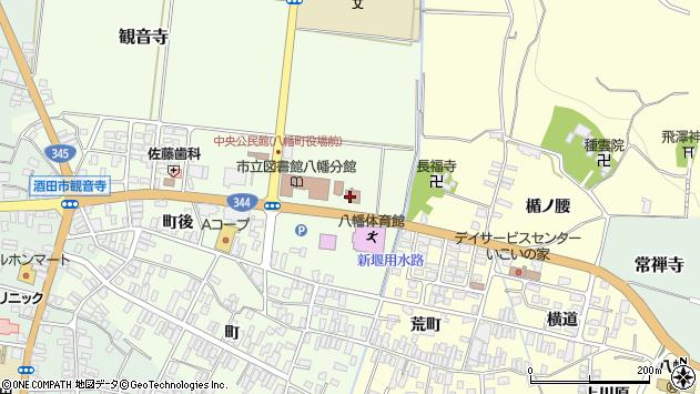 山形県酒田市観音寺寺ノ下39周辺の地図