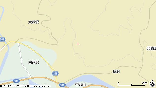 山形県酒田市北青沢早坂周辺の地図